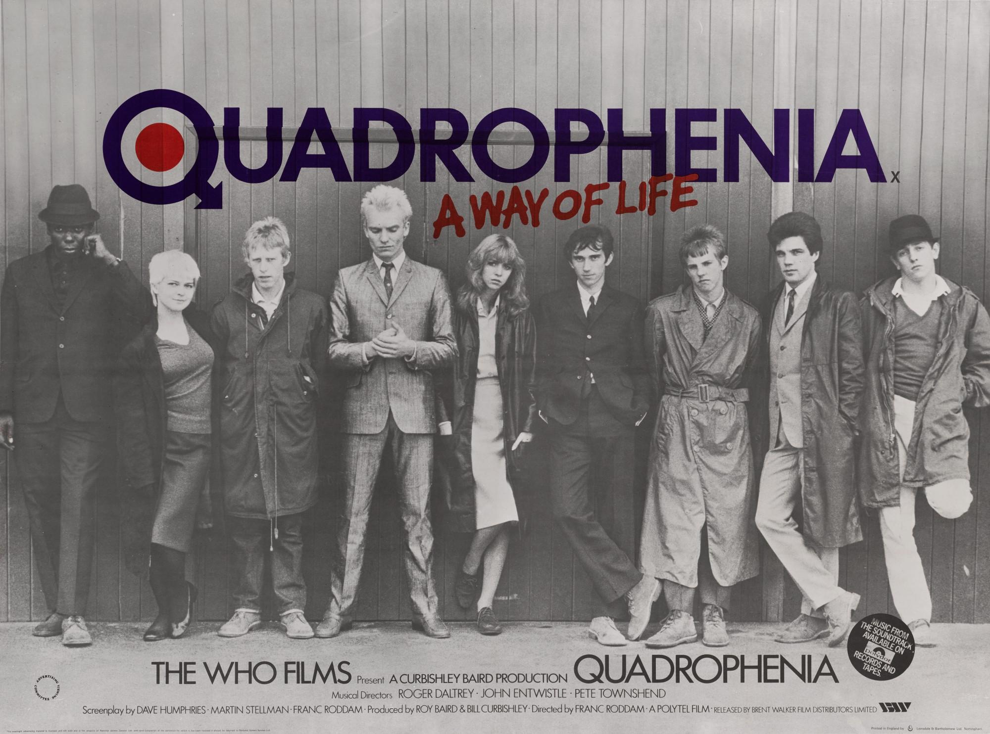 QUADROPHENIA – 40° anniversario al Cineclub Bellinzona