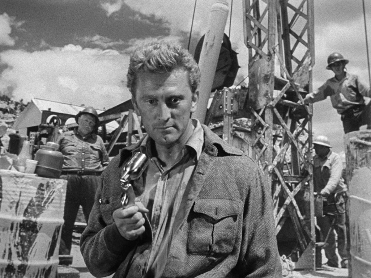L'ASSO NELLA MANICA di Billy Wilder in versione restaurata in 2k, un omaggio a Kirk Douglas