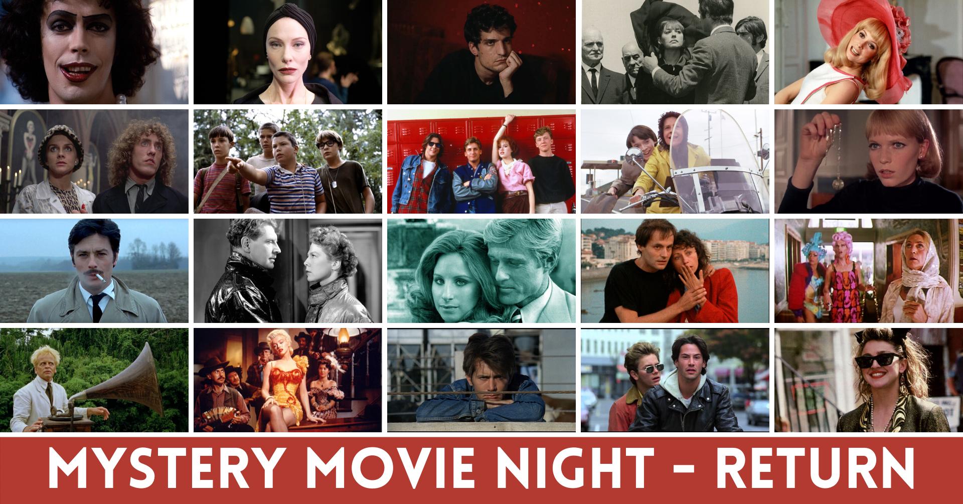 MYSTERY MOVIE NIGHT – Il 17 settembre torna il Cineclub Bellinzona